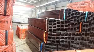 Square rectangular tube for building structure Q235/Q345