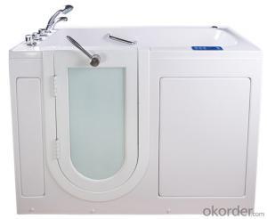 Dual massage outward swing door walk in tub-K111