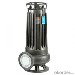 QW Series Submersible Sewage Cutter Pump Sewage Pump