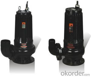 QW Series Submersible Sewage Cutter Pump Sewage Pump
