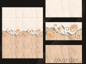 New designs of ceramic wall tiles 300*600 mm