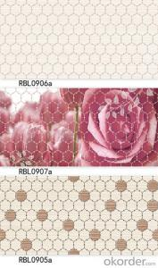 Bathroom & kitchen decorative ceramic wall tiles