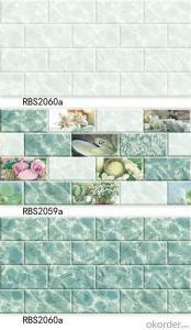 ceramic wall tiles for bathroom & kitchen for Dubai market