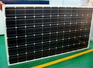 UL and TUV Approved High Efficiency 70W Mono Solar Panel