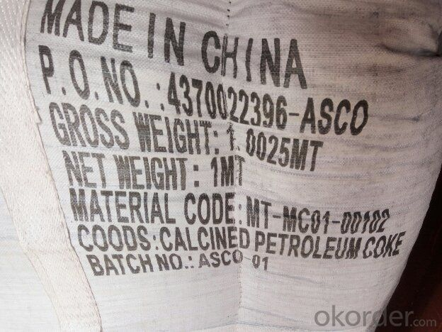 Calcined Petroleum Coke with FC 98.5%min