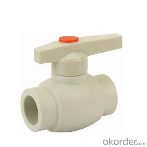 B2 Type  PP-R ball  valve  with  brass  ball