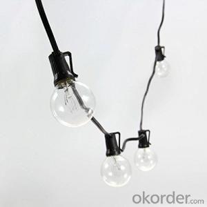 Vintage G40 Globe Bulb Patio Light String Fancy String Light for Decoration