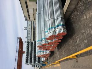 Hot dip galvanized welded steel tube for structure