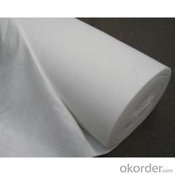 Permeable Geotextile Nonwoven Fabric High Permeability Polyester Spunbond Fabric