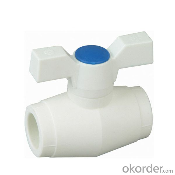 C5 Type  PP-R ball  valve  with  brass  ball
