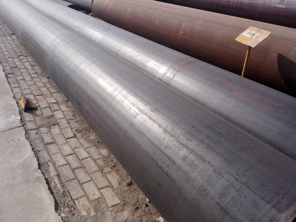 Caliber double sided submerged arc welded pipe
