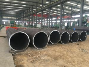 The water used for large diameter welded pipe