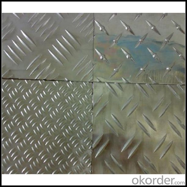 Embossed Aluminum Sheet 5052 Alloy for Transportation Toolbox
