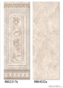Decorative ceramic wall tiles in Asia market