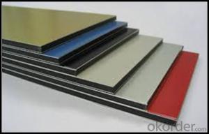 PVDF Color Coated Aluminium Sheet for Building Curtain Walls