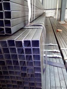 Galvanized welded round tube and rectangular tube