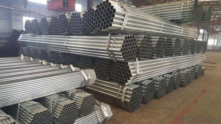 Galvanized welded steel pipe for building