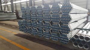 Galvanized steel tubes for various medium and low pressure fluids