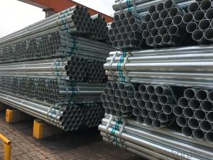 Galvanized welded steel pipe for   furniture