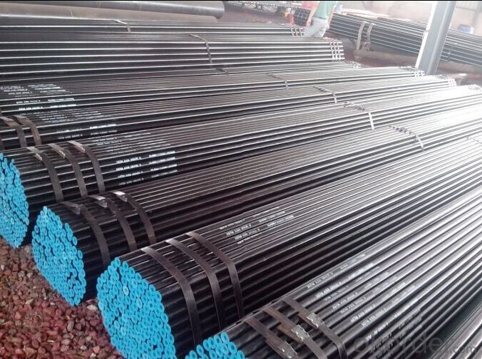 API Seamless Steel Line Pipe ASTM A53 ASTM A 106 For Structure