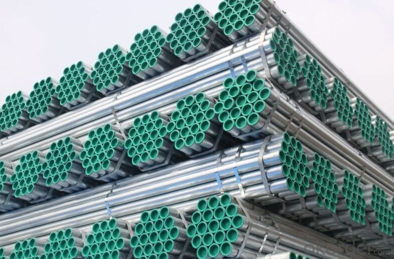 High quality galvanized welded steel pipe
