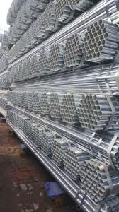 Galvanized welded steel pipe for pipeline