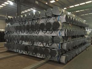 Galvanized welded steel pipe for   materials