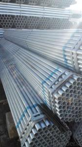Galvanized welded steel pipe for engineering structure