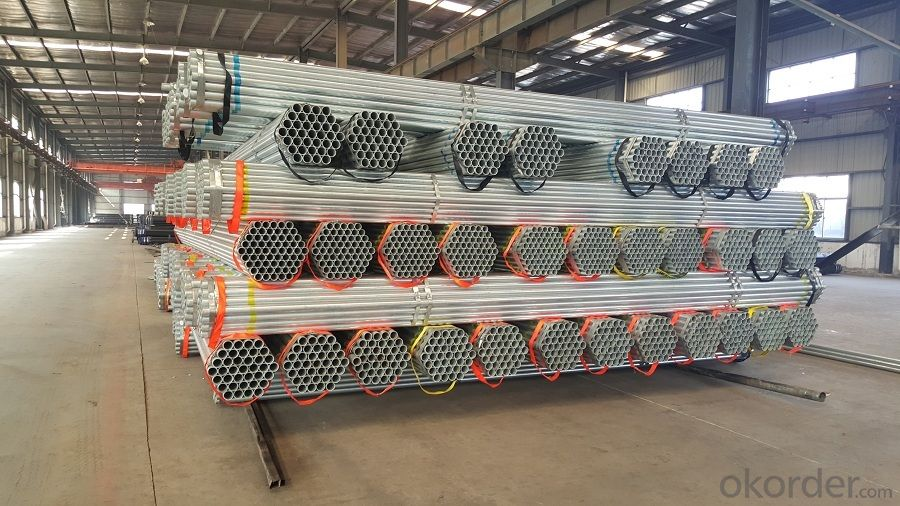 Pre-galvanized  Pipe America Standard Q235 A500 150g Hot Dipped or Galvanized Pipe