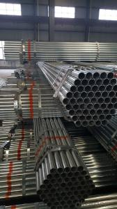 Galvanized welded steel pipe for machine
