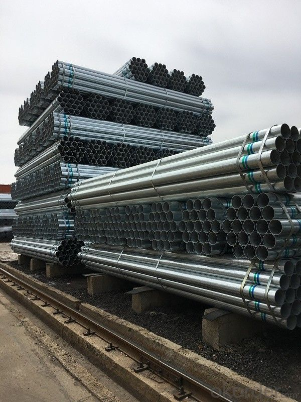 Pregalvanized galvanized seamless steel pipe price