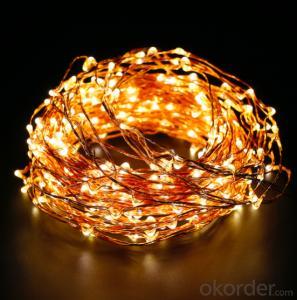 240 Lights micro LED copper wire light decorative light waterproof hanging socket outdoor light