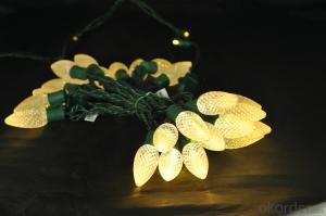 C9 LED light string decorative light waterproof hanging socket outdoor light