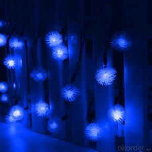 Soft snowflake solar light string decorative light waterproof hanging socket outdoor light