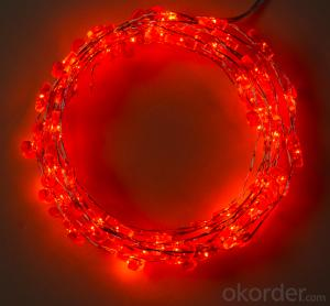 Candy cane copper wire light decorative light waterproof hanging socket outdoor light