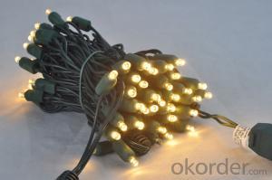 5MM Wide angle LED light string 110v mini bulb light led candle light