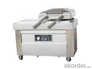 Double chamber automatic vacuum sealing packing machine