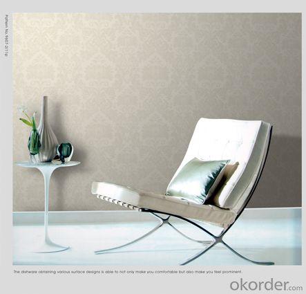 3D Water Proof Velvet Wallpaper Metallic Wallpaper Border In China