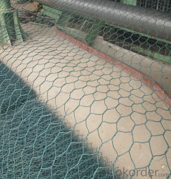 Hexagonal Wire Mesh Gabion Stone Cage Double Twisted