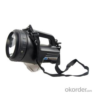 rechargeable handheld spotlight CREE LED police hand lights JGL-868T6 for police