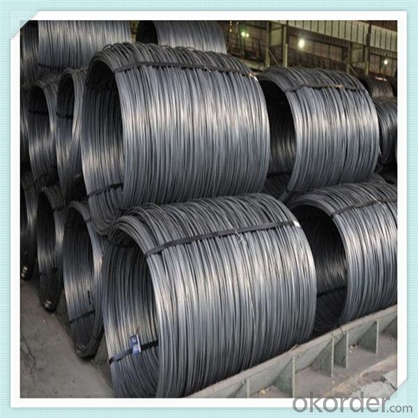 HRB400 steel wire rod hot rolled in good quality