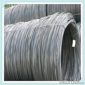 SAE1008 Steel wire rod low carbon in good quality