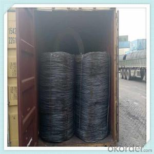 Q235 Steel wire rod hot rolled from china