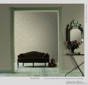 Flower Decorative Wallpaper For restaurant Made In China