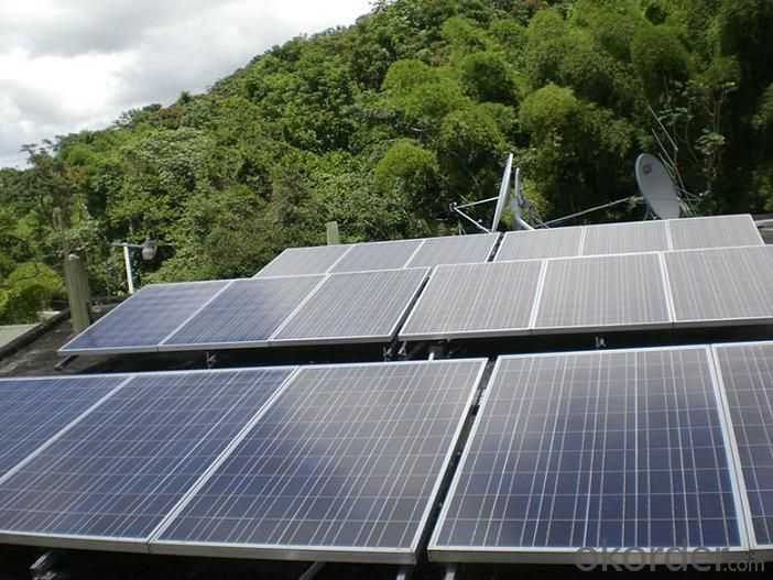 Solar Monocrystalline Panel for Home Use