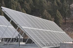 Solar Monocrystalline 125m Panel Series 60W-65W