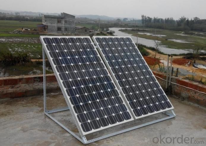 Monocrystalline Sillicon  Solar Panel Industral Use