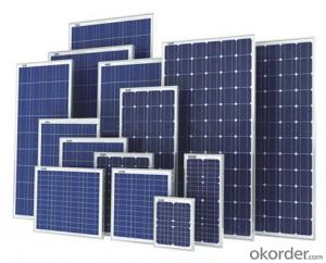 Solar Monocrystalline Panel ,Portable Solar Powe Supply