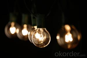 The Most Popular G40 Globe String Lights Fancy String Lights UL Listed