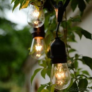 New Arrivals! LED Bulb S14 E26 48 Feet 24 Bulb for Holiday and Outdoor Decoration